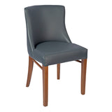 Elm Wood Frame Side Chair