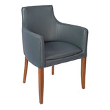 Elm Wood Frame Armchair