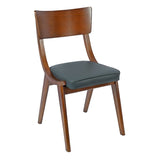 Kensal Wood Frame Side Chair