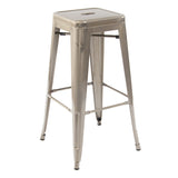 Greenford Gunmetal Bar Stool