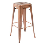 Greenford Vintage Copper Bar Stool