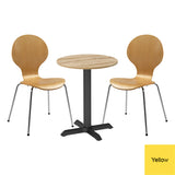 Next Day Dining Bistro Set - Lambeth Circular Table and 2 x Chesham Chairs