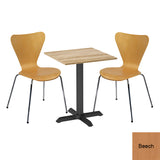 Next Day Dining Bistro Set - Lambeth Square Table and 2 x Ealing Chairs