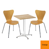 Next Day Dining Bistro Set - Greenwich Square Table and 2 x Ealing Chairs