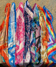 Load image into Gallery viewer, BWK Silk Head Scarves