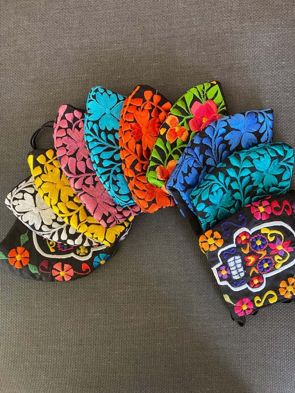 Mexican Embroidered Masks