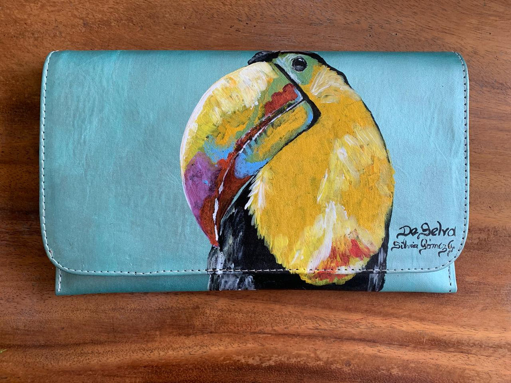 De Selva Toucan Clutches
