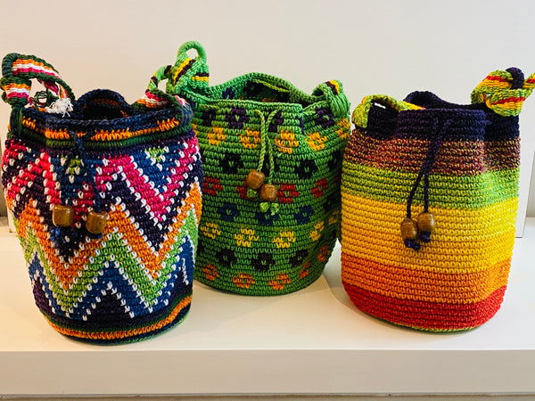 Colorful Handwoven bags