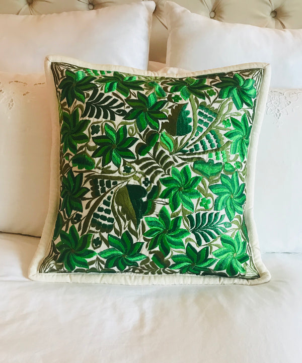 Embroidered Mexican Cushion Covers