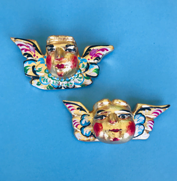 Hand painted Cherubs