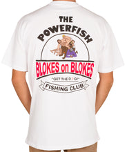 Load image into Gallery viewer, Powerfish Fishing Club Shirt White