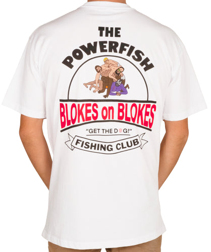 Powerfish Fishing Club Shirt White