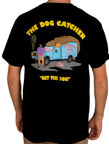 Dog Catcher  - T Shirt Black