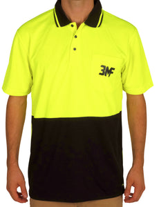 High Vis Short Sleeve Work shirt