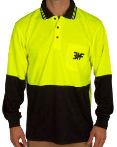 POWERFISH LONG SLEEVE WORK SHIRT