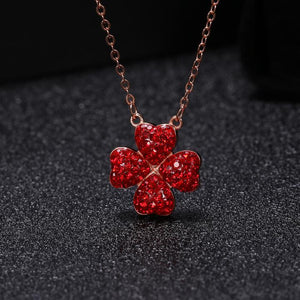 Four-leaf clover necklace - Buy 2 Free Shipping