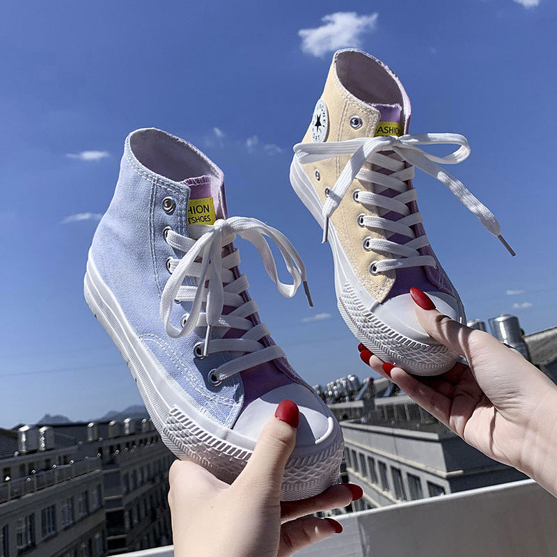 2019 Canvas Photochromic Shoes -High-Top