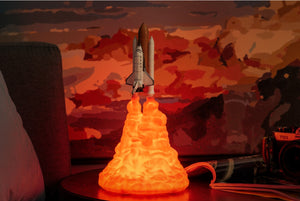 3D Space Shuttle Night Lamp (LIMITED EDITION)