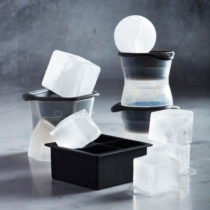 Leak-Free, Sphere Ice Molds with Tight Silicone Seal, 2.5 Inch Sphere