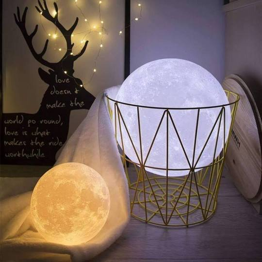 3D PAINT MOON LIGHT LAMP-Buy 2 Free Shipping