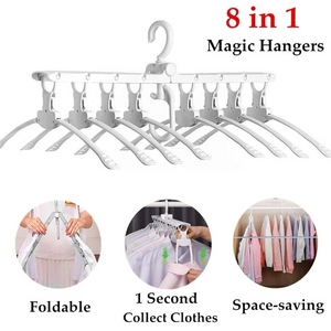 8 in 1 Folding Hangers-Buy 2 Free Shipping