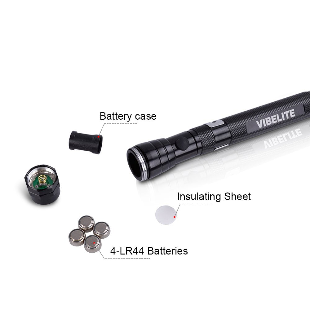 MULTI-FUNCTION TACTICAL  LED FLASHLIGHT