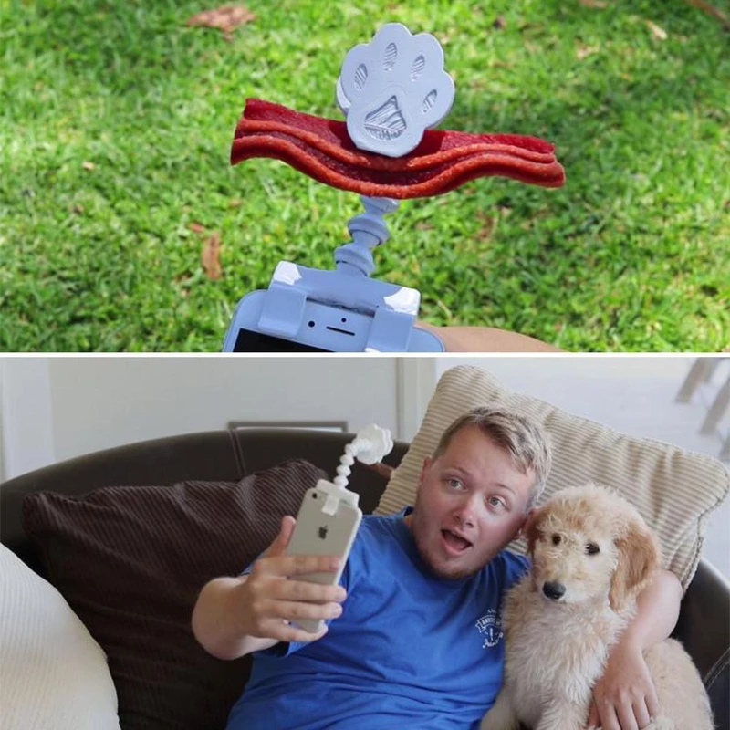 Hirundo Lovely Pet Selfie Stick-Buy 1 Get 1 Free Pet Baseball Cap