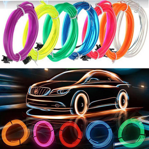 EL Car Cold  Lamps Flexible Neon