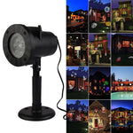 Christmas Home Decoration Projector Lights 12 Pattern