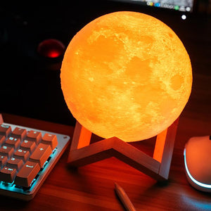 3D FASHION MOON LIGHT LAMP-Buy 2 Free Shipping