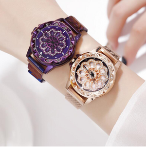 2019-Luxury Cherry Blossom Rotating  Watch - Buy 2 Free Shipping