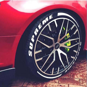 Waterproof Logo Tire Sticker For Car and  Motorcycle - DIY Your Tires