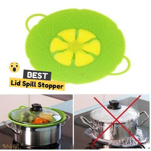 SILICONE SPILL STOPPER HANDY LID - SAVE 50% TODAY