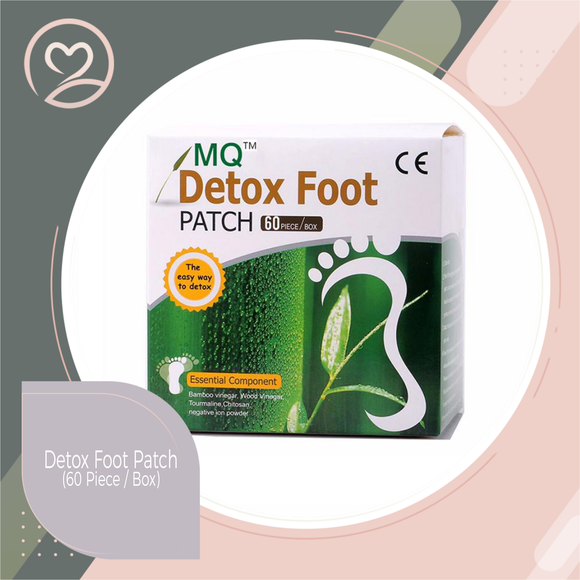 Detox Foot Patch (60 Piece / Box)