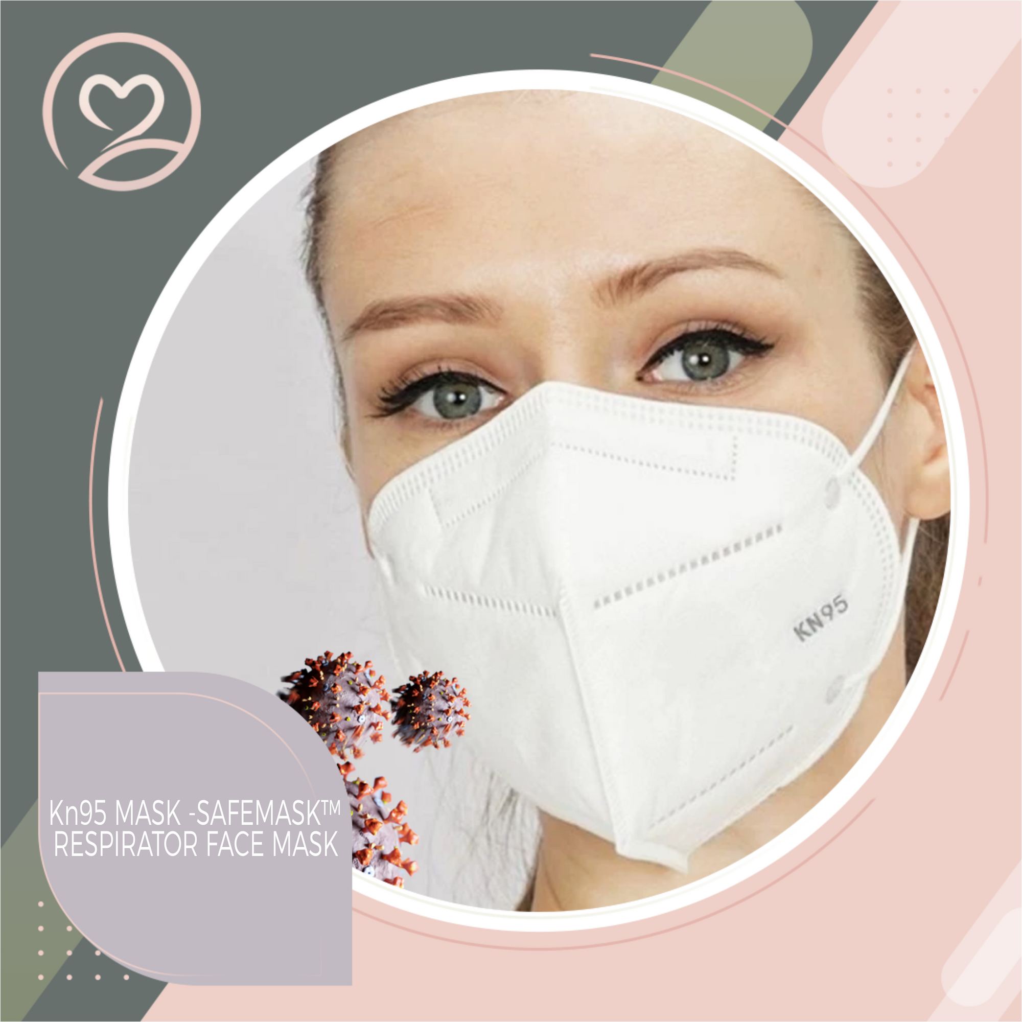 KN95 Mask -SafeMask™ Respirator Face Mask