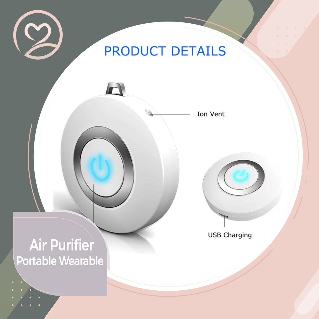 Portable Wearable Air Purifier