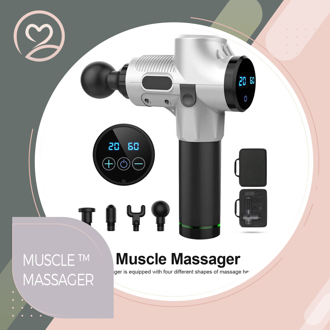 Electric Muscle Massage Gun Deep Tissue Massager