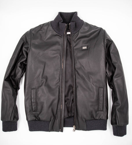 Dolce & Gabbana – Leather Jacket Black