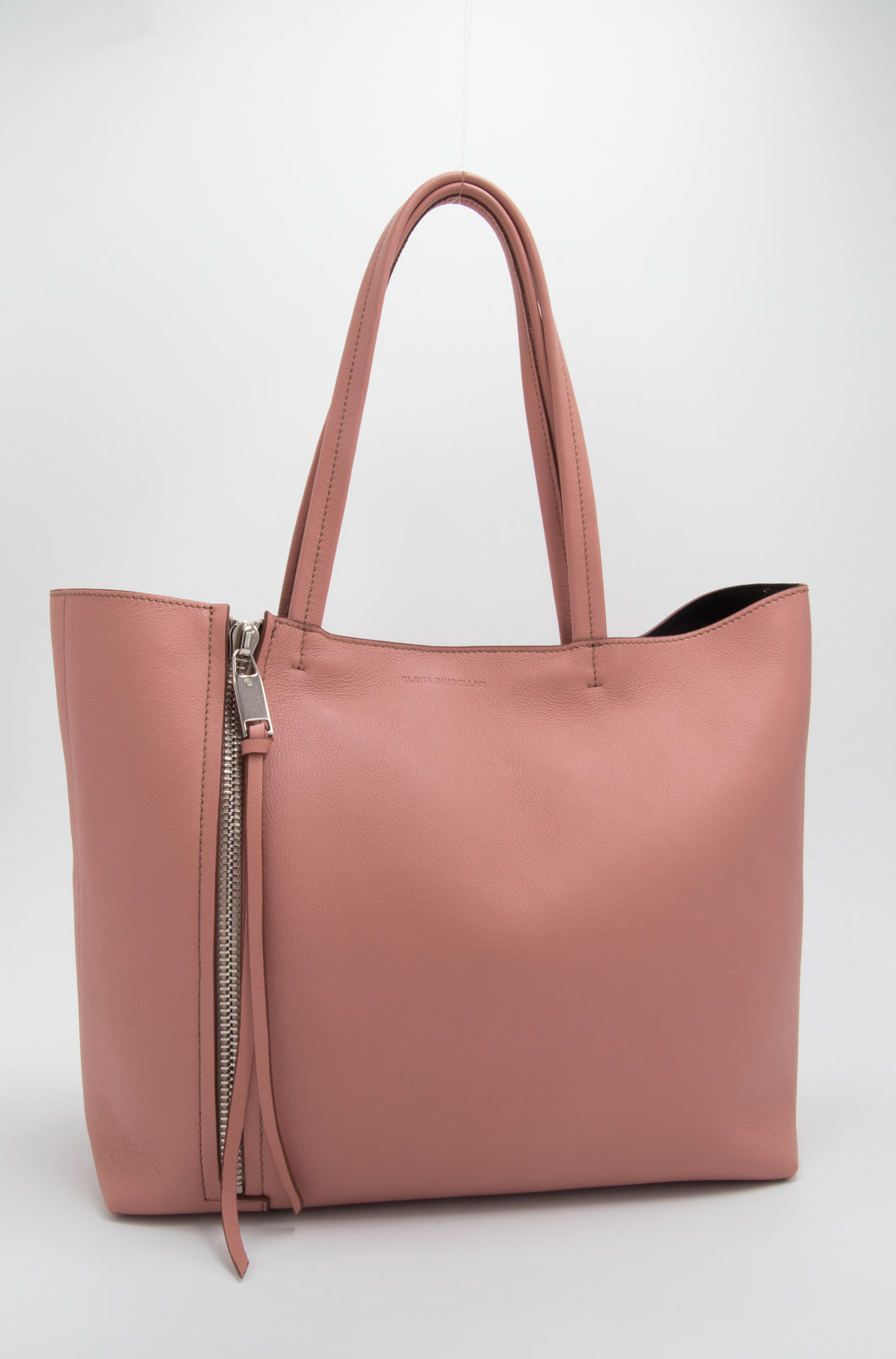 Elena Ghisellini – Elegant Style Bag With Leather Shoulder Strap