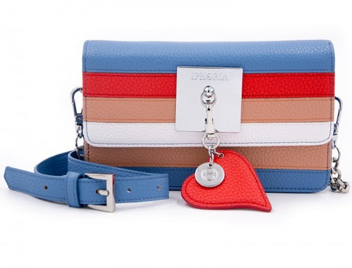 Iphoria Micro Shoulder / Belt Bag Heart Stripes