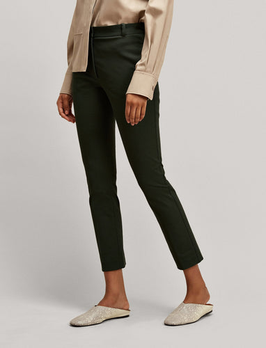 Joseph Zoom Gabardine Stretch Trousers in Black