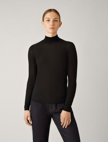 Joseph High Neck Seamless knit