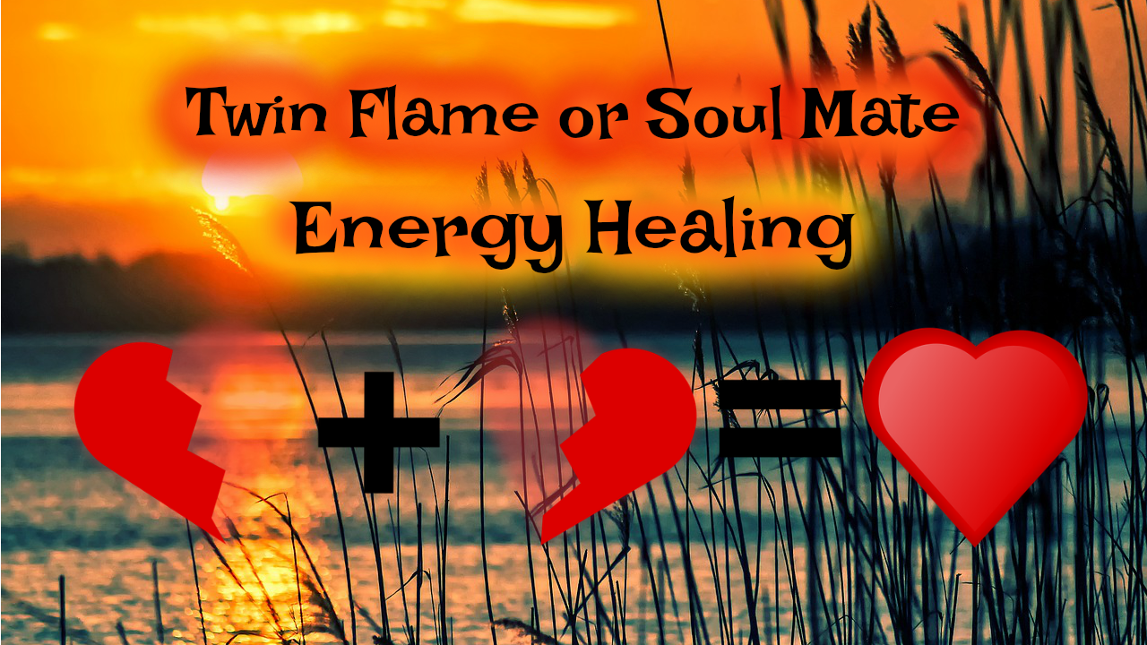 Twin Flames Energy Healing MP3: Cut Old Chords & Heal Your Union [30-minute Instant Download]]