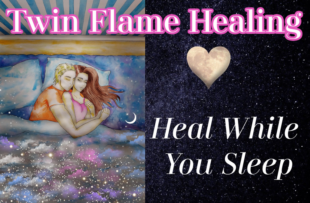 Twin Flame 5-Hours of Healing & Affirmations [For Sleep or While Awake]