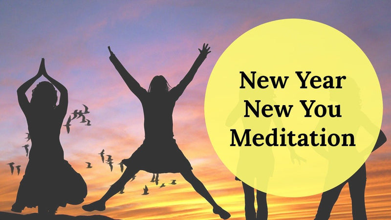 New Year New You Meditation:  Manifest New Years Goals [12 minutes]