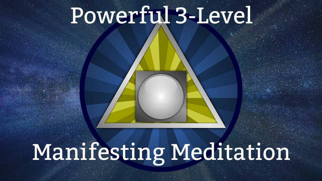 Powerful 3-Level Manifesting Meditation [16 minutes] Infused with Reiki Energy