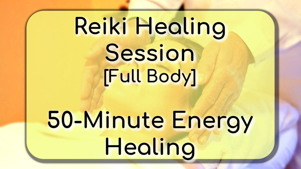 Reiki Healing 50-Minute Complete Energy Healing Session [MP3 Download]