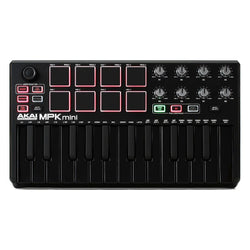 Akai MPK Mini MKII - Black LE