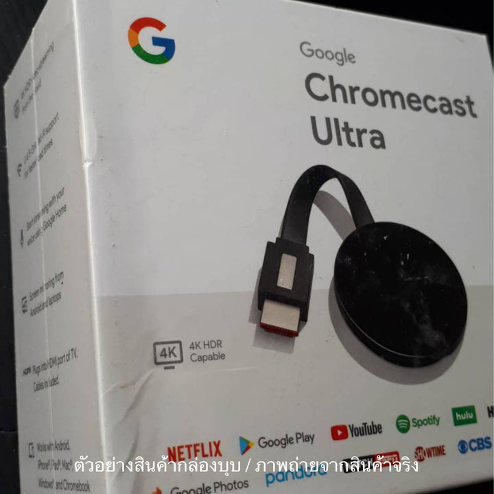 Google Chromecast Ultra 4K (Dented box)