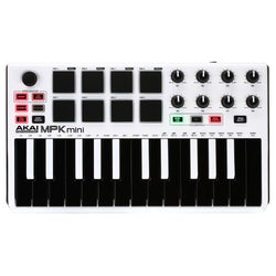 Akai MPK Mini MKII - White LE